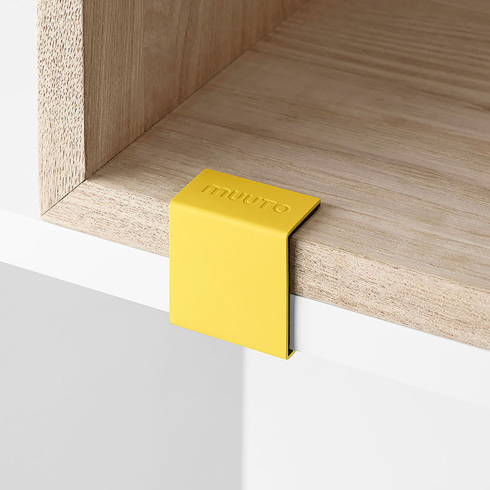 top3 by design muuto new nordic muuto stacked clip 5 yellow. Black Bedroom Furniture Sets. Home Design Ideas