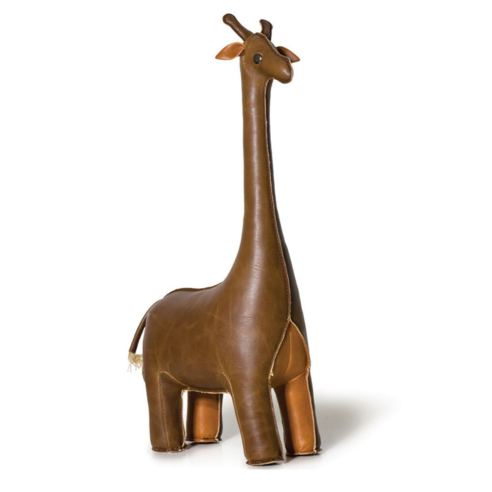 top3 by design zuny zuny bookend giraffe tan. Black Bedroom Furniture Sets. Home Design Ideas
