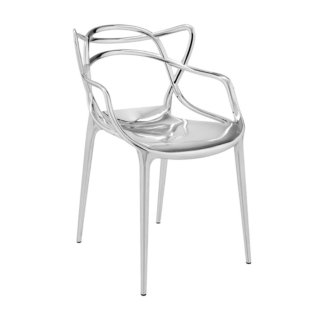 top3 by design kartell masters chair chrome. Black Bedroom Furniture Sets. Home Design Ideas
