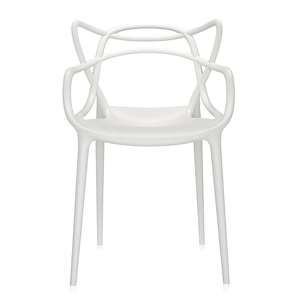 Top3 by design kartell masters chair white Chaise kartell masters