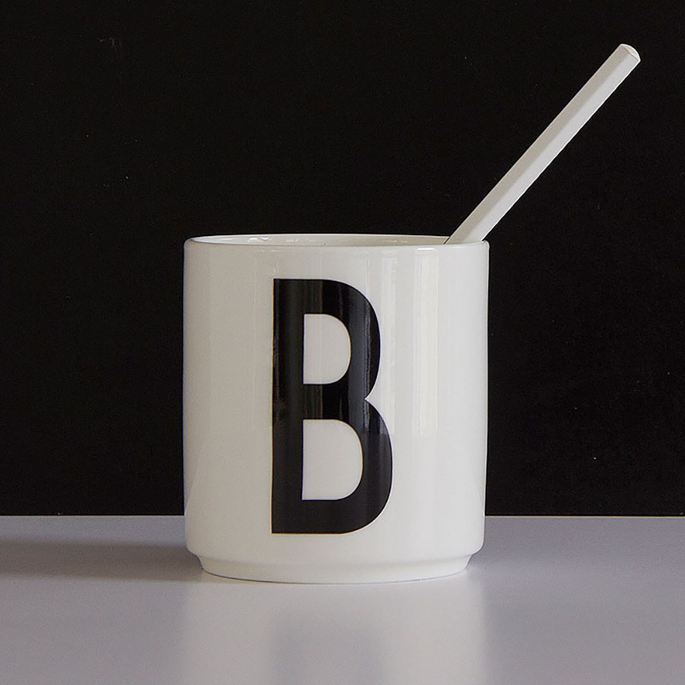Kitchen Set Letter L: AJ Porcelain Cup B
