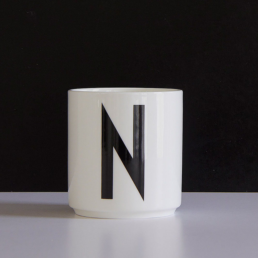 Kitchen Set Letter L: AJ Porcelain Cup N