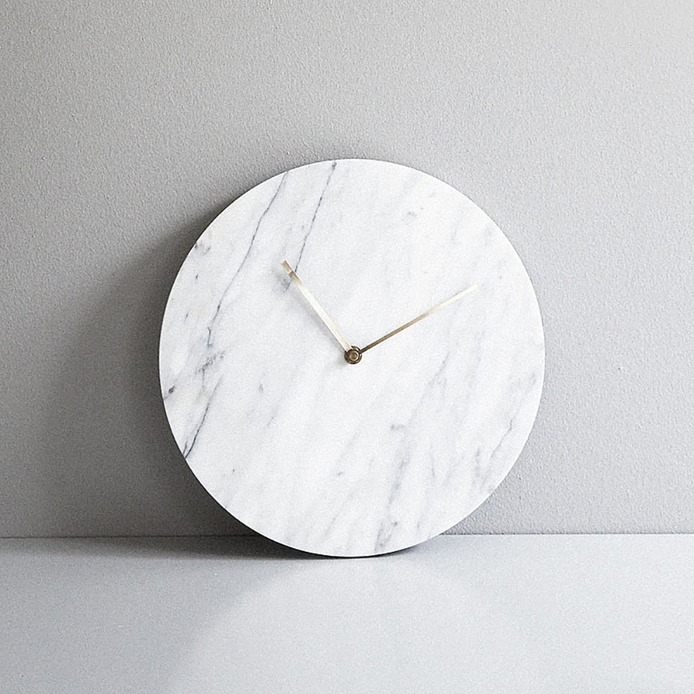Top3 by design menu marble wall clock white menu marble wall clock white norm amipublicfo Choice Image