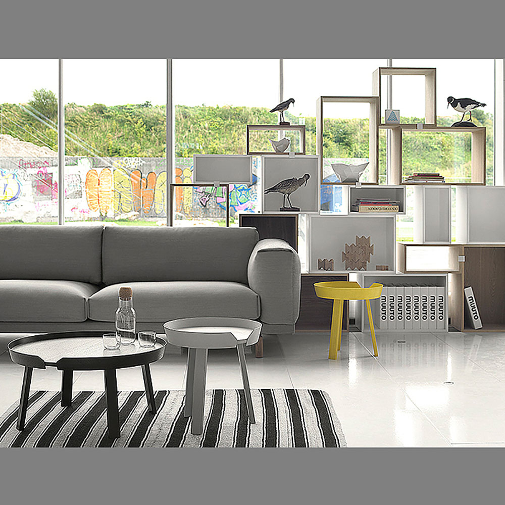top3 by design muuto new nordic muuto stacked shelf open ash m. Black Bedroom Furniture Sets. Home Design Ideas