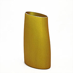fink vase gold medium
