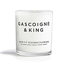 gascoigneandking candle mt fuji rice flower 800