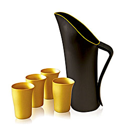 black fink jug gold lip exclusive top3 w beakers 1000