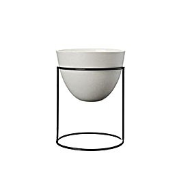 ivy muse nest planter with pot 1000