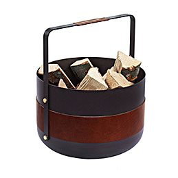 wbe havane wood baskets dark leather 1000