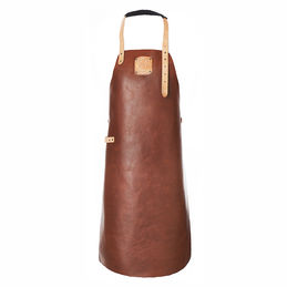 witloft apron leather apron cognac nude 1000