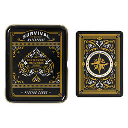 gentlemens hardware survivalplayingcards white 1000