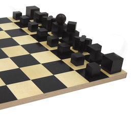 naef chessset with figures black 1000