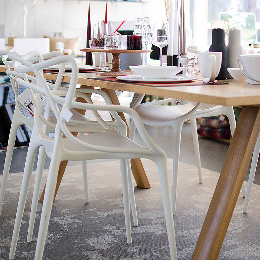 Top3 by design kartell masters chair white for Masters kartell