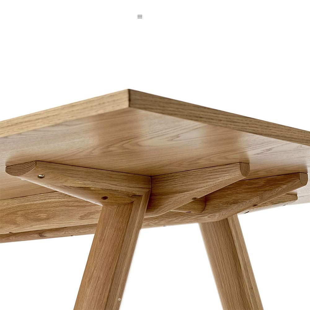 Top3 by design go home plateau table natural oak for Plateau table