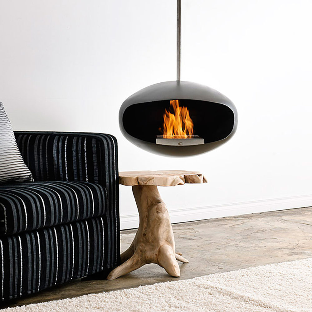 Cocoon Chiminea Aeris Black