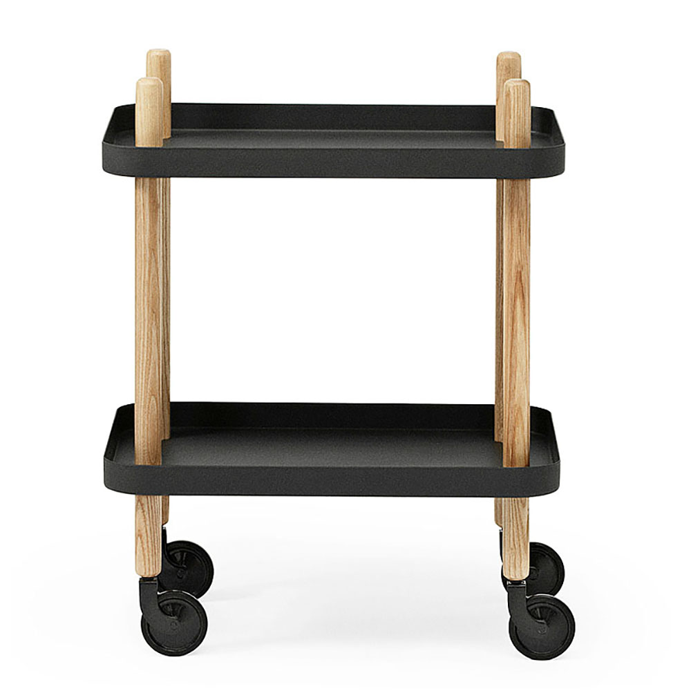 top3 by design normann copenhagen nm block table black. Black Bedroom Furniture Sets. Home Design Ideas