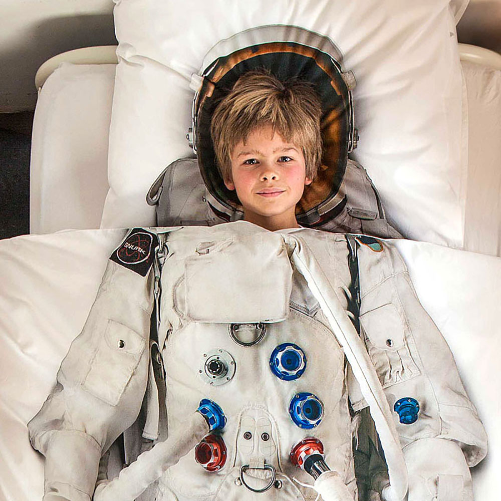 Top3 By Design Snurk Astronaut Single Bed Set