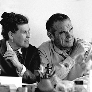 Ray + Charles Eames products at top3 by design