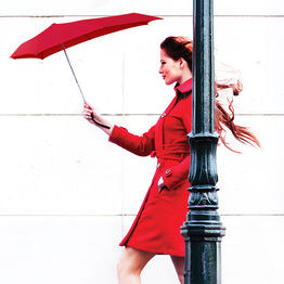 Senz umbrella - red