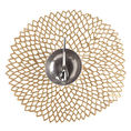 Chilewich Dahlia Brass tablemats