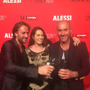 Alberto Alessi Vogue Living Design Prize Terri Winter Alexander Lotersztain