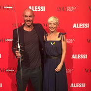 Alberto Alessi Vogue Living Design PrizeAdam and Michelle Goodrum