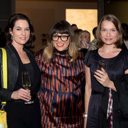 Terri Winter, Jess Scully and Maria Laitinen