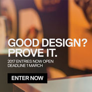 GOOD DESIGN AWARDS entry closes March 1st. news from top3 by design
