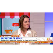 Channel 7 - Sunrise - Terri Winter discusses future of retail news from top3 by design