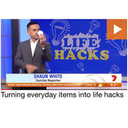 SUNRISE - Life Hacks with Shaun White news from top3 by design