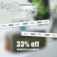 SALE NOW ON 2017 news from top3 by design