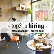 top3 is hiring - Store Manager - SYDNEY news from top3 by design