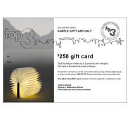 Online giftcard! The gift of Choice! news from top3 by design