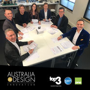 Terri Winter - host on Australia by design - Innovations, Channel 10 news from top3 by design