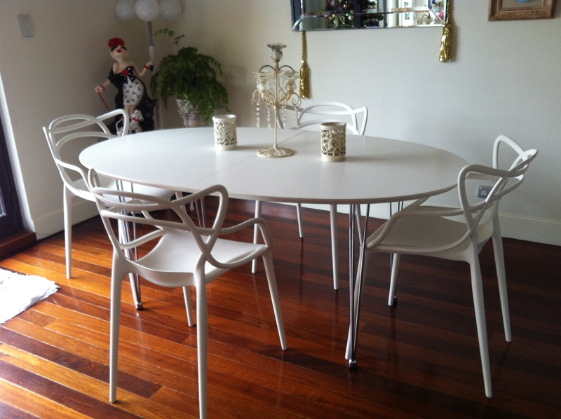 Top3 By Design Kartell Masters Chair Light Grey